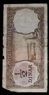 Banknote Iraq 1/2 Dinaro - Iraq