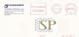 Portugal 1995 Franquia Mecânica Linda-a-Velha Ema Mechanical Franchise STRESSTABS Medicine STRESS Médicaments Postmark - Medizin