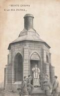 Cartolina  - Postcard / Non Viaggiata - Not  Sent. /  Monte Grappa, La Mia Patria. - War Memorials