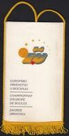 Croatia Zagreb 1994 / European Championship In Bowls / Boules, Bocce / Flag, Pennant - Bowling