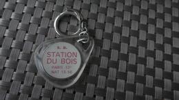 PORTE CLEF PARIS STATION SERVICE  DU BOIS AUTOMOBILE - Autres Collections