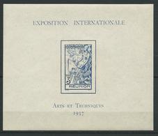 REUNION 1937 . Bloc Feuillet N° 1 . Neuf ** (MNH) - Blokken & Velletjes