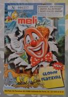 Ticket De Réduction Pour Meli Park (1999) / Verminderingsticket Voor Meli Park (1999) - Tickets D'entrée