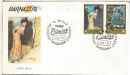 BARCELONA 1978 HOMENAJE A PABLO PICASSO ARTE PINTURA - Picasso