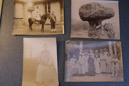 China Early 1900' Original Pictures Missionary Catholic 4 Off Very Rare - Photographs