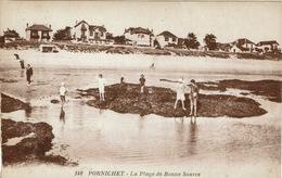 Pornichet (186), La Plage De Bonne-Source, Jolie Carte Circulée - Pornichet