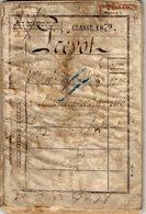 VP14.845 - MILITARIA - NANCY 1880 - Livret Militaire Du Soldat L.P. PREVOT 42 , 46 , 103 ème Rgt D'Infanterie TOUL - Documentos