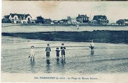 Pornichet (189), La Plage De Bonne Source, Jolie Carte, Circulée - Pornichet