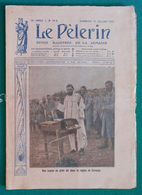 Revue Illustrée Le Pèlerin - N° 1998 - Dimanche 11 Juillet 1915 - Une Messe En Plein Air Dans La Région De Carency - 1914-18