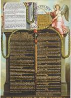 Carte-Maximum FRANCE N°Yvert 2598 (DECLARATION DES DROITS DE L'HOMME) Obl Sp Ill 1er Jour (Ed Paris-Musées) - 1980-89