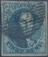 1850 - Mi 4, Yt 4 - Oblitére - 1849-1850 Medaillen (3/5)