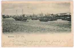 ZANZIBAR 1899 Harbour - Tansania
