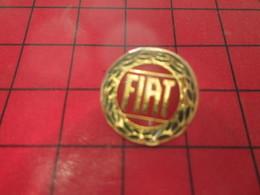 513A Pins Pin's  / Rare Et De Belle Qualité / THEME AUTOMOBILES : LOGO DE LA MARQUE FIAT - Fiat