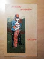 Cpa -la Guerre Amusante-victoire(style Art Nouveau) - Illustrators & Photographers