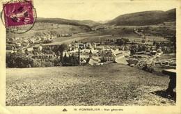 25 PONTARLIER / VUE GENERALE / A 424 - Pontarlier
