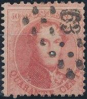 1863 - Mi 13, Yt 16 - Oblitére - 1858-1862 Medallions (9/12)