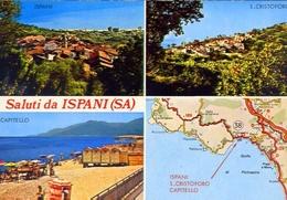 Saluti Da Ispani - Salerno - Formato Grande Non Viaggiata – E 11 - Salerno