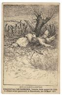 Temse BROEDERLIEFDE Edward & Frans VAN RAEMDONCK,Temsche,beide Sergent,24°Linie. In Elkaars Armen Gesneuveld, - Temse