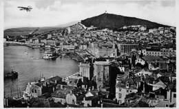 Split, Panorama, Flugzeug - Yougoslavie