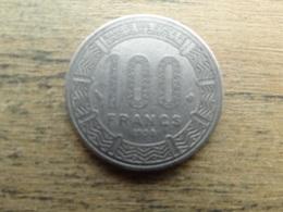 Central Africa  100  Francs  1998  Km 13 - Centrafricaine (République)