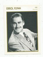Photographie, Portrait De STARS, Cinéma ,acteur , Errol FLYNN ,1945,  Photo Koball, 2 Scans ,fiche Descriptive - Personalità