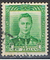 NOUVELLE-ZÉLANDE 18 // YVERT 238 A // 1938-41 - Usados