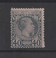 MONACO.  YT  N° 7  Neuf *  1885 - Monaco