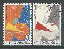 Zypern  2003 Mi.Nr. 1013 / 1014 A , EUROPA CEPT - Plakatkunst  - Gestempelt / Fine Used / (o) - Europa-CEPT