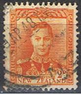 NOUVELLE-ZÉLANDE 20 // YVERT 285 // 1947 - Usados