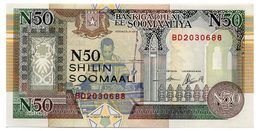SOMALIA 50 SHILIN 1991 Pick R2 Unc - Somalia