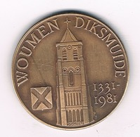 50 WOUDEN   1981 DIKSMUIDE BELGIE /3716/ - Non Classificati