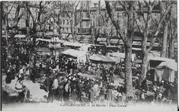 CARCASSONNE : LE Marché-Place Carnot - Carcassonne