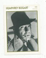 Photographie, Portrait De STARS, Cinéma ,acteur , Humphrey BOGART ,1945,  Photo Koball , 2 Scans ,fiche Descriptive - Personalità