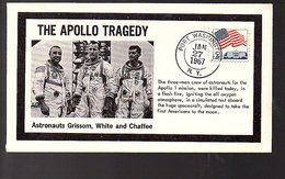The Apollo Tragedy 1967 Astronauts Grissom, White, Chaffee (918) - Vereinigte Staaten
