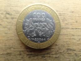 Central Africa  100  Francs  2006  Km 15 - República Centroafricana