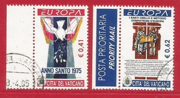 Vatikanstadt  2003 Mi.Nr. 1459 / 1460 , EUROPA CEPT - Plakatkunst  - Gestempelt / Fine Used / (o) - 2003