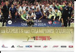 HANDBALL - EQUIPE DE FRANCE CHAMPIONNE D'EUROPE 2014 - EHF - Handbal