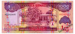 SOMALILAND 1000 SHILLINGS 2015 Pick 20 Unc - Somalië
