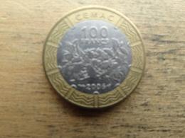 Central African  100  Francs  2006  Km 15 - República Centroafricana