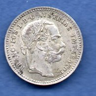 Autriche   - 10 Kreuzer 1872   -  état   SUP - Austria