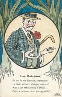 """CPA Théme-Illustrateur Signé """" GRIFF""""-Série """" AMOUR GRIVOIS """"N°: 276   Les Poireaux - Griff"""