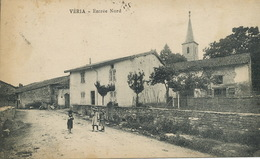Veria Entrée Nord Timbrée De Balanod Jura Ecrite De Granges - Frankrijk