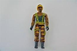 Vintage ACTION FIGURE GI JOE : TIGER FORCE ROADBLOCK [heavy Machine Gunner] - Original Hasbro 1988 - Hasbro - GI JOE - Action Man