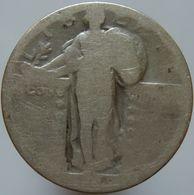 United States 25 Cents 1928 G - Silver - 1916-1930: Standing Liberty (Libertà In Piedi)