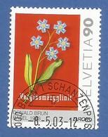 Schweiz / Helevetia  2003 Mi.Nr. 1838 , EUROPA CEPT - Plakatkunst  - Gestempelt / Fine Used / (o) - Europa-CEPT