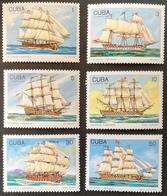 Cuba  1989 Warships - Cuba