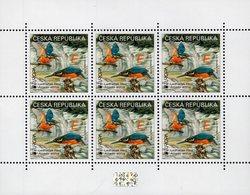 Czech Republic - 2019 - Europa CEPT - National Birds - Kingfisher - Mint Miniature Stamp Sheet With Hologram - República Checa