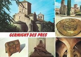 45 Germigny Des Prés Divers Aspects (2 Scans) - Altri Comuni
