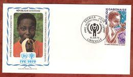 FDC, Jahr Des Kindes, Libreville 1979 (72918) - Gabun (1960-...)