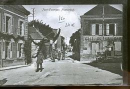 PONT FAVERGER   CP ALLEMANDE - Autres Communes